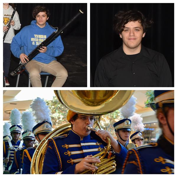 Senior O. Fresolone makes EVERY All-State Ensemble that he was eligible for during his time at A.I.