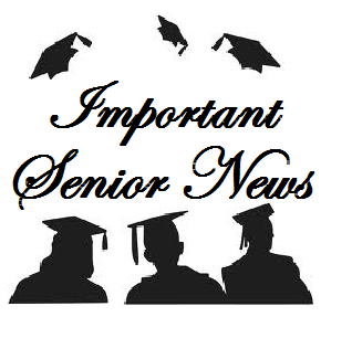 Parents of Senior News • PLEASE READ!