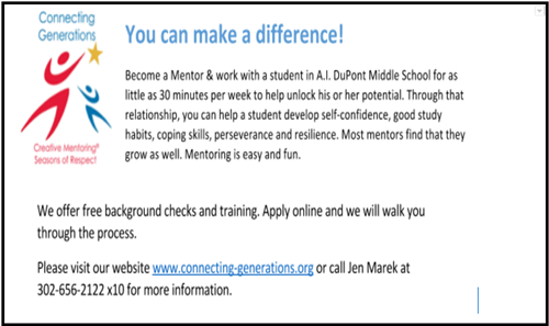 Become a Mentor!