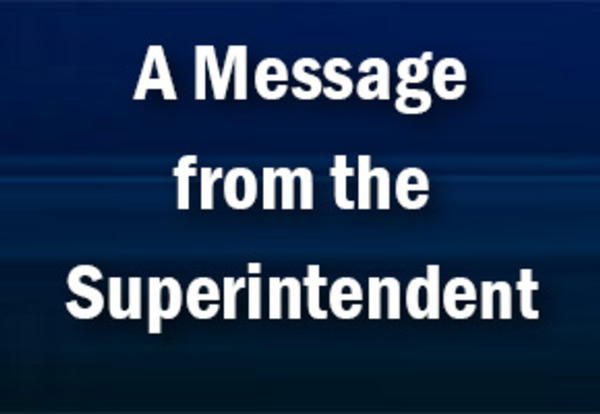 Superintendent Messages