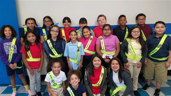 These 20 students were picked out of 67 Applicants to be on the Safety Patrol for this School Year