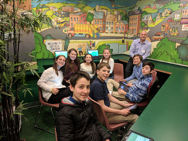 The Sixth grade recently went to The JA Finance Park