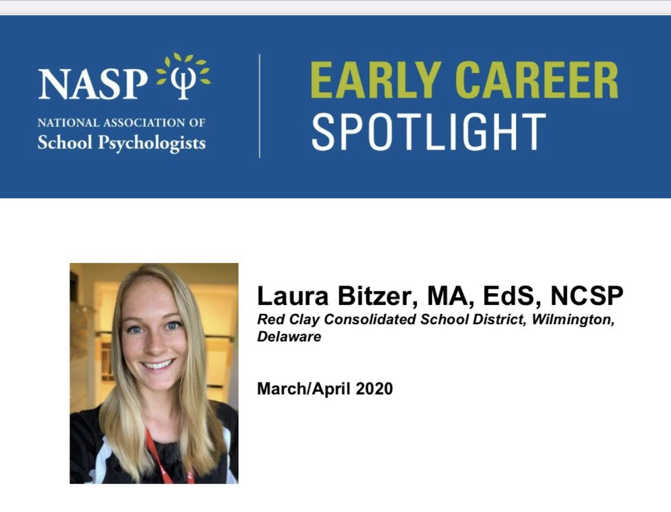 Laura Bitzer Interviewed in the NASP