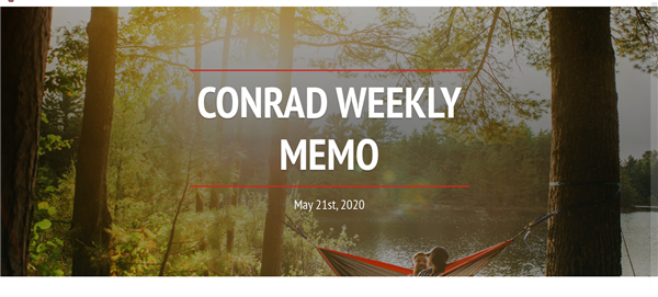 Weekly E-mail 5.21.2020