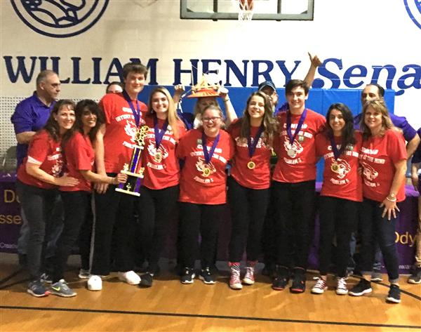 HS Odyssey of the Mind Team Going to World Finals!