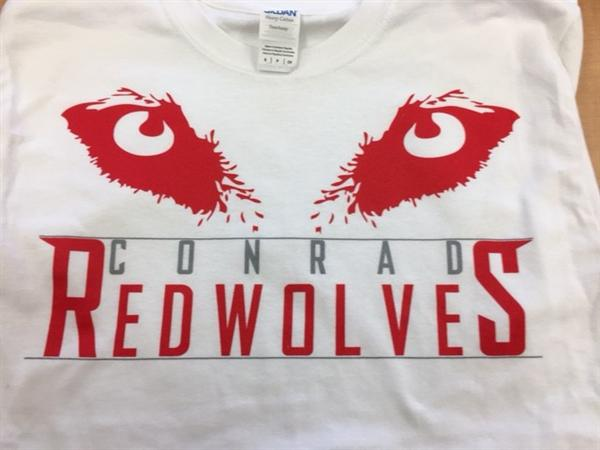 Conrad Students Pick Red Wolves as New Mascot