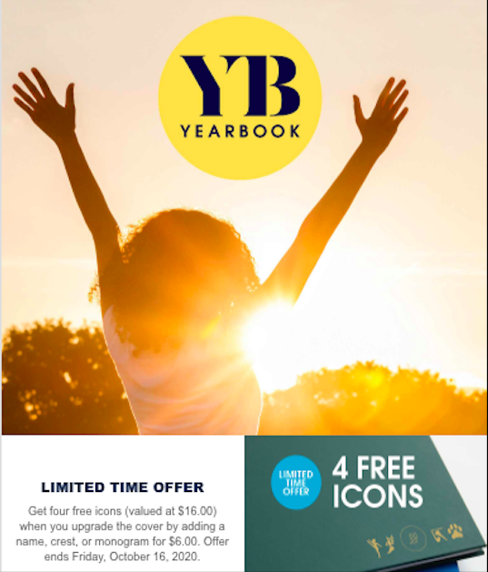 Yearbook Presale Extended