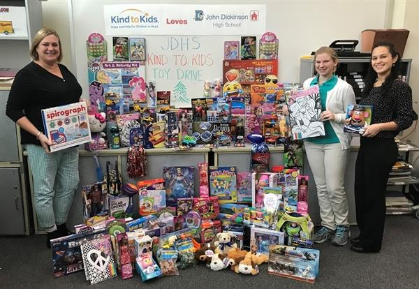 Toy Drive Yields Over 100 Toys