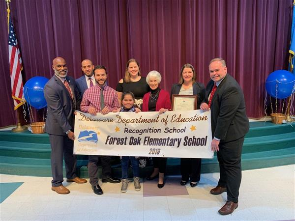 Forest Oak named a Recognition School