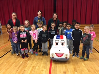 """Otto"" the Auto Visits Kindergarten"