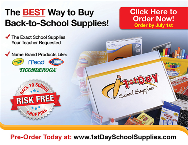 Order your school supply kits for next year!