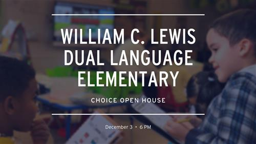 Lewis School Choice Open House