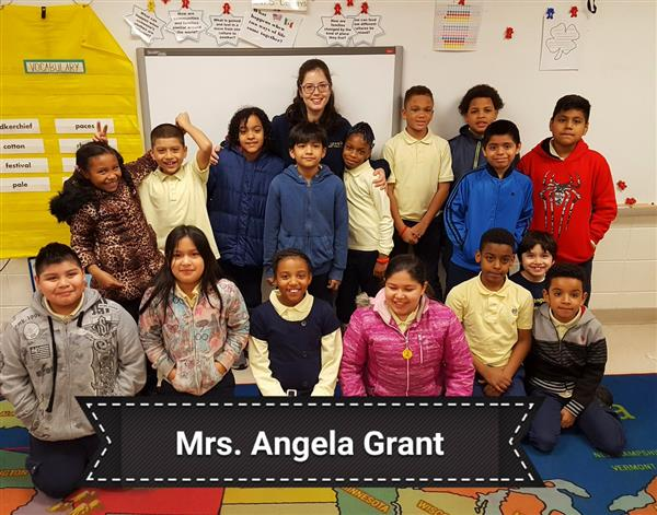 Congragulations to our 2019 Lewis Teacher of the Year - Mrs. Angela Grant