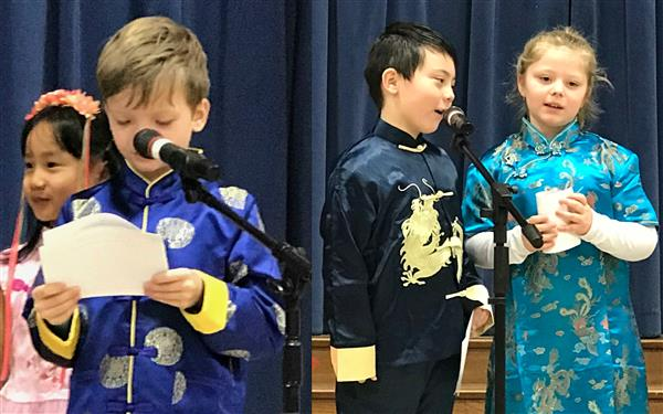 Chinese Immersion Classes Celebrate Chinese New Year