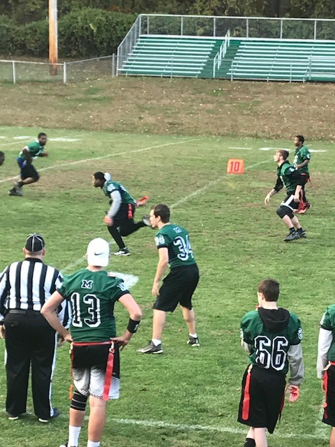 The McKean Highlanders Unified Flag Football Team