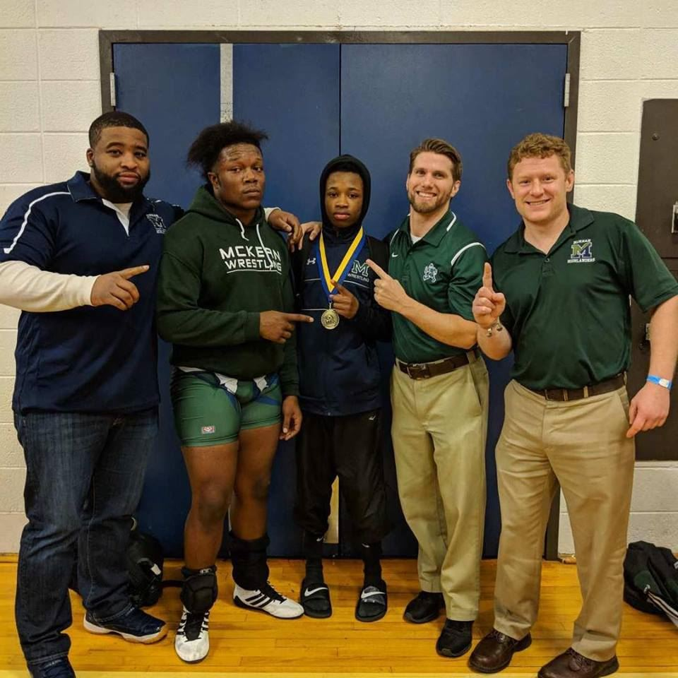 McKean Wrestlers Win Individual Blue Hen Conference Matches
