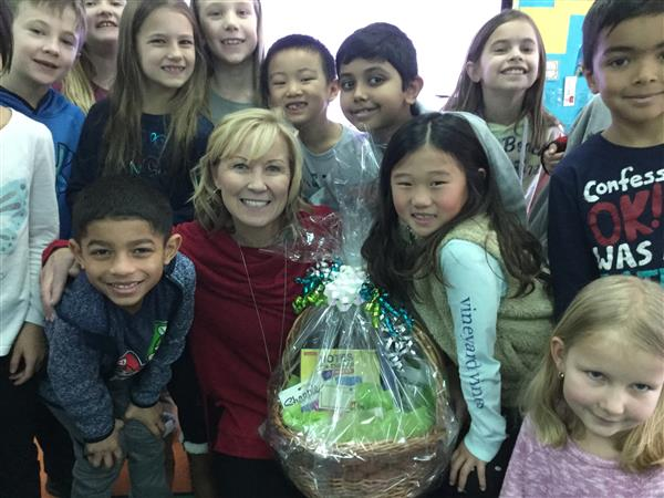Announcing North Star Elementary School's Teacher of the Year...Mrs. Michelle Scott!