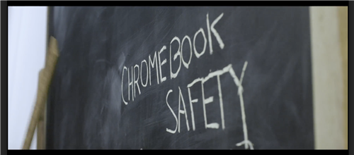 A rap video produced by EDTV to remind students how to care for their chrome books.