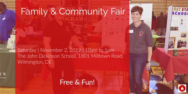 Red Clay Family & Community Fair 11/2/19