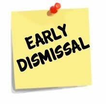 Elementary schools will dismiss at 2:00 on 3/20/18