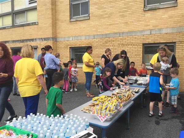 EYP at Baltz hosts Family Picnic