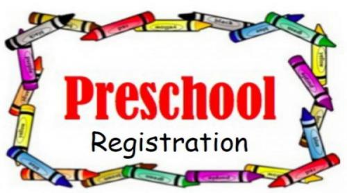 Preschool registration forms are available for download now!