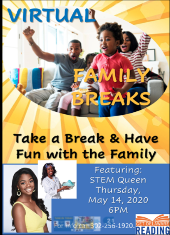 Virtual Family Breaks this Thursday, May 14th!