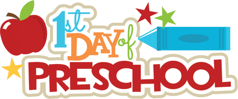 Preschool Begins Tuesday, September 3, 2019!