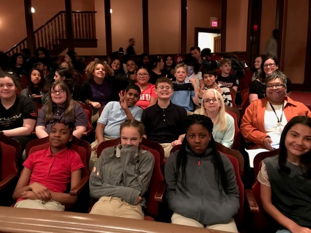 Stanton's Chorus attends Grand Opera House to see performance by Step Afrika!