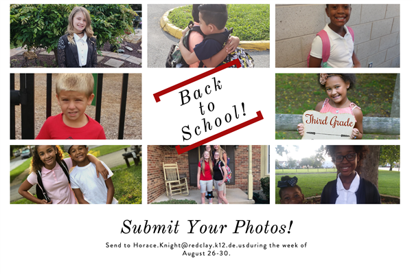 Back to School Photo Submissions.