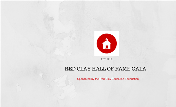 Red Clay Hall of Fame Gala 2017