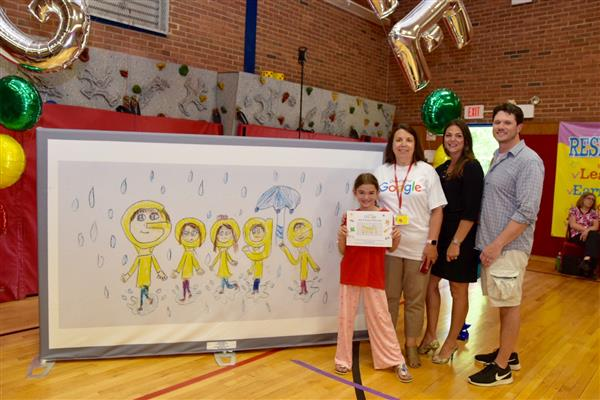 Heritage Student is the Delaware Winner of Google's Doodle for Google Contest
