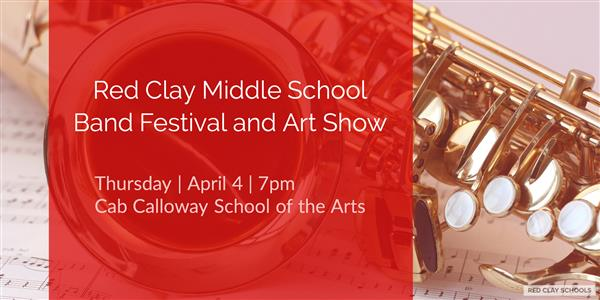 Middle School Band Festival April 4