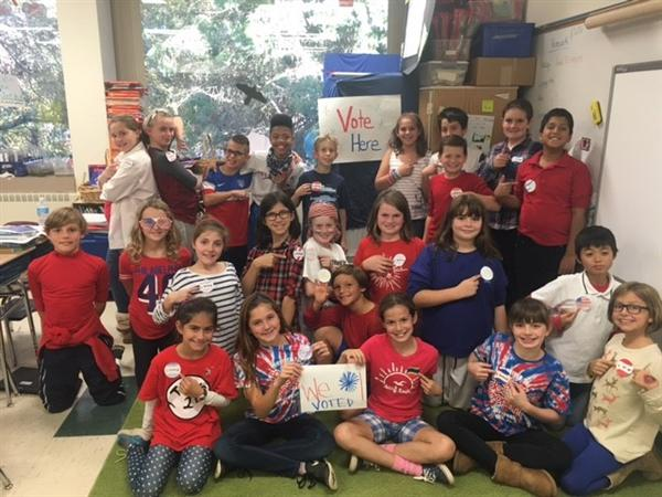 Red Clay Students Cast Their Votes