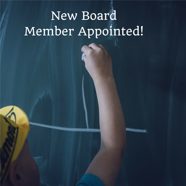 New Board Member Appointed