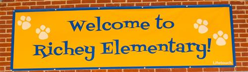 Welcome to Richey Elementary banner