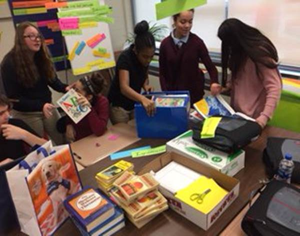 Stanton AVID Students Observe Read Across America Day