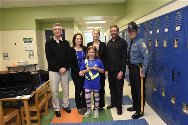 Outstanding School Safety Patrol Members Honored
