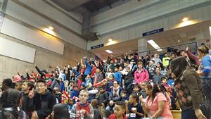 Students in Stands